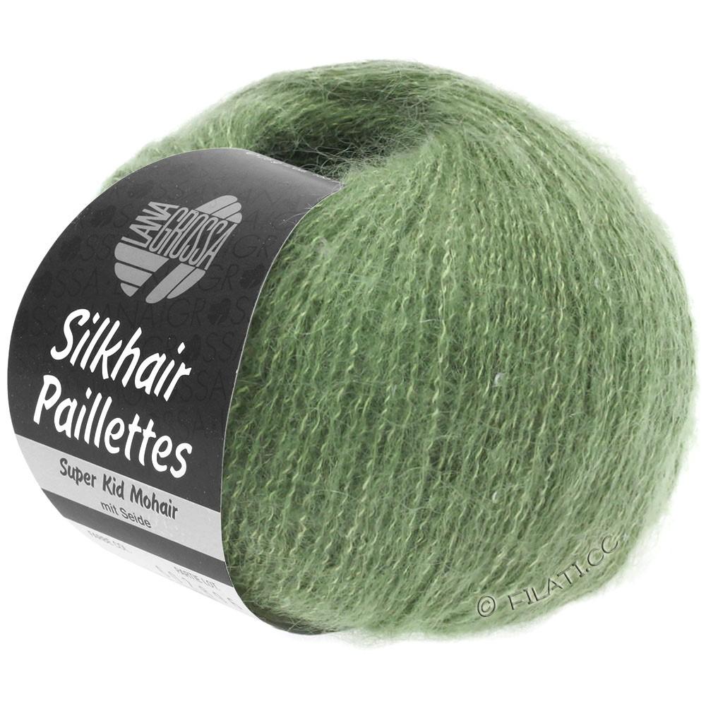 Lana Grossa SILKHAIR Paillettes | 420-Resedagrün