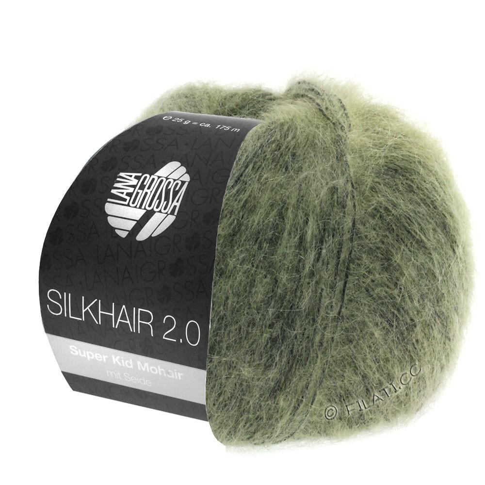 Lana Grossa SILKHAIR 2.0 | 04-Graugrün