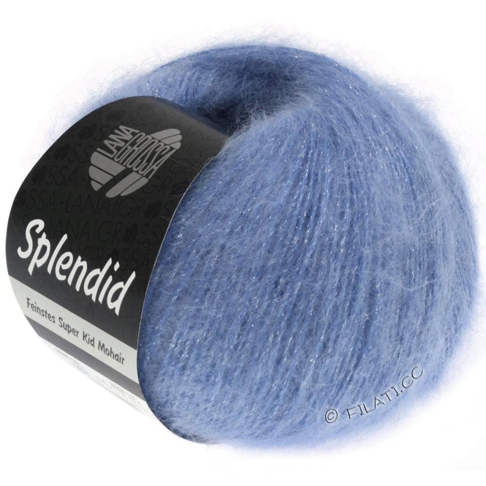 Lana Grossa SPLENDID | 23-Blau/Silber