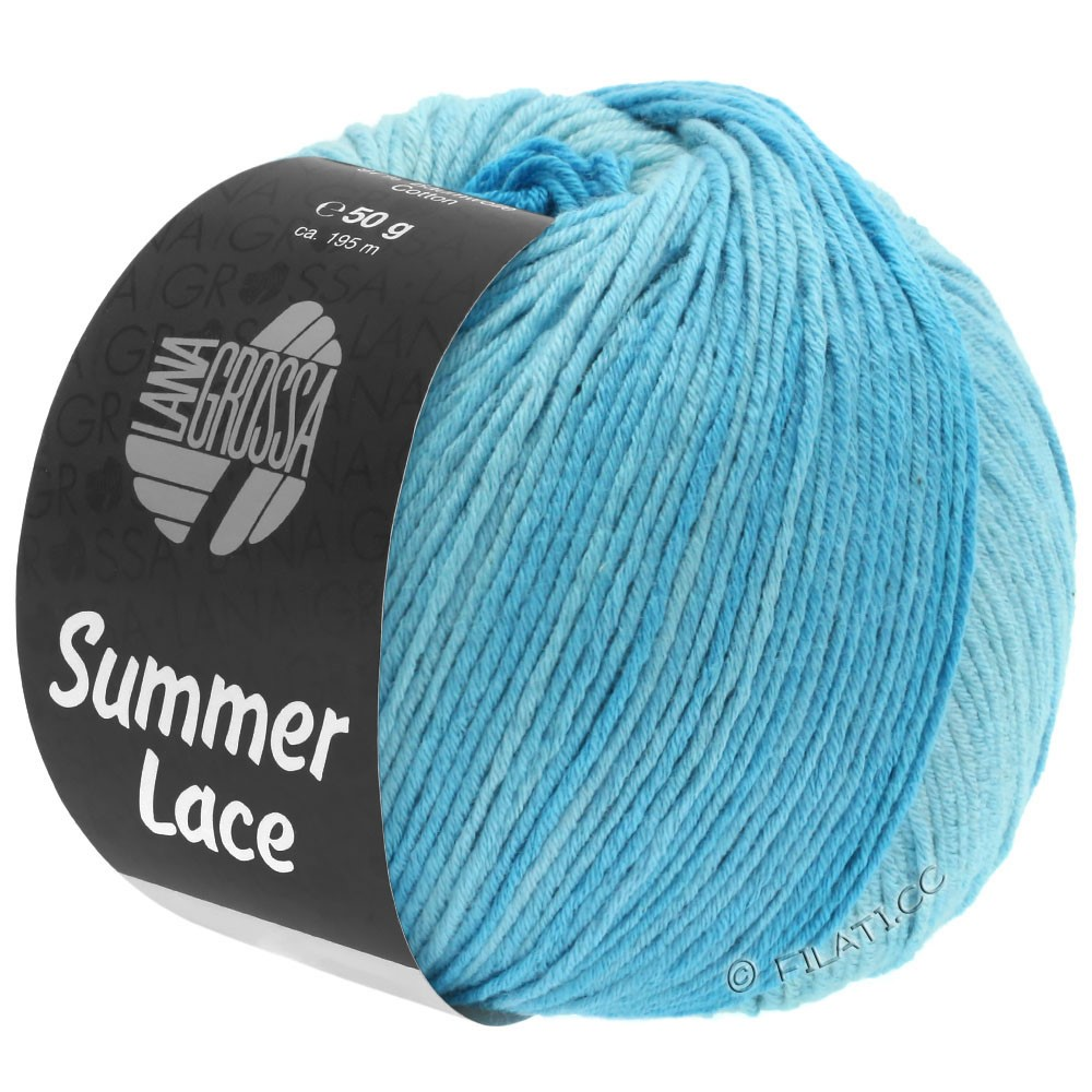 Lana Grossa SUMMER LACE DEGRADÉ | 103-Mint/Helltürkis/Türkis