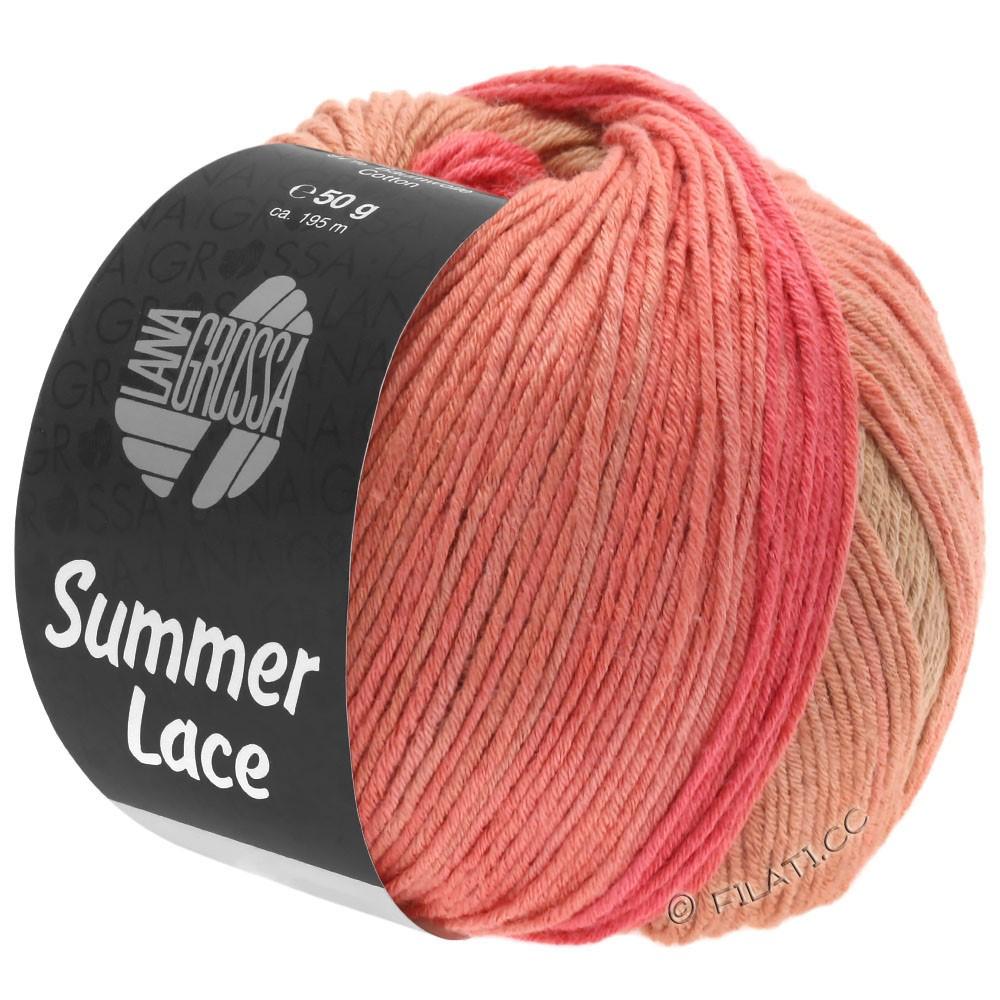 Lana Grossa SUMMER LACE DEGRADÉ | 105-Hellkhaki/Camel/Lachs