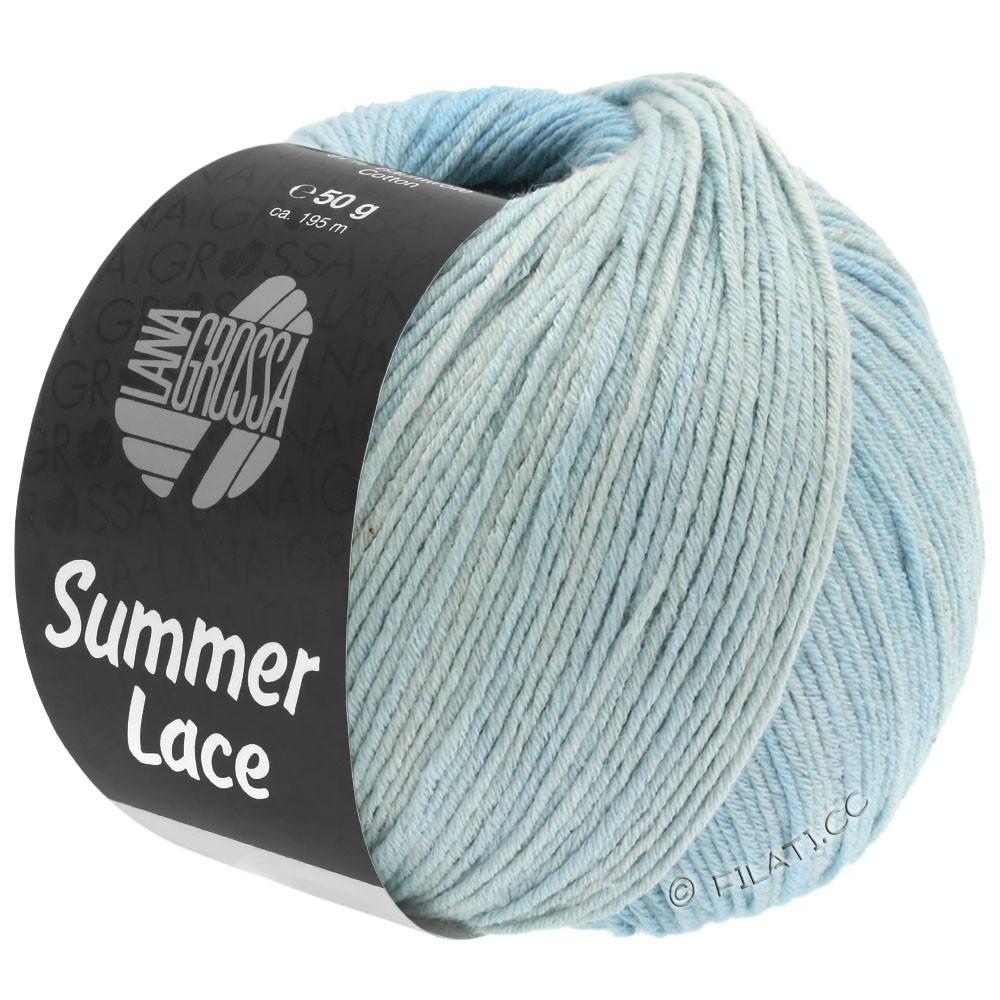 Lana Grossa SUMMER LACE DEGRADÉ | 109-Natur/Pastellblau/Hellblau