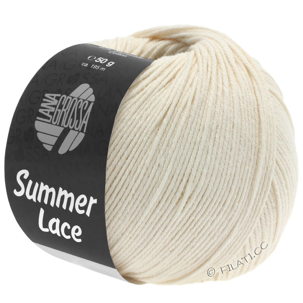 Lana Grossa SUMMER LACE | 02-Creme