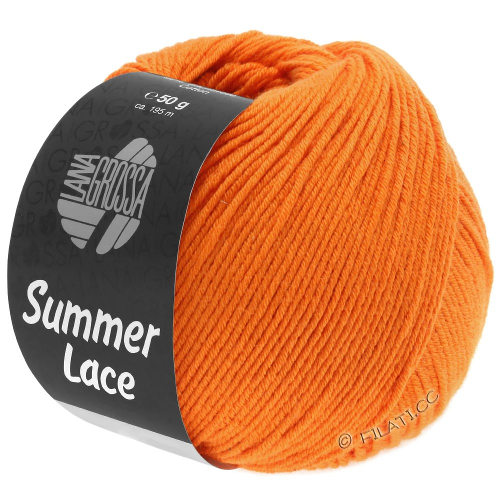 Lana Grossa SUMMER LACE | 17-Orange