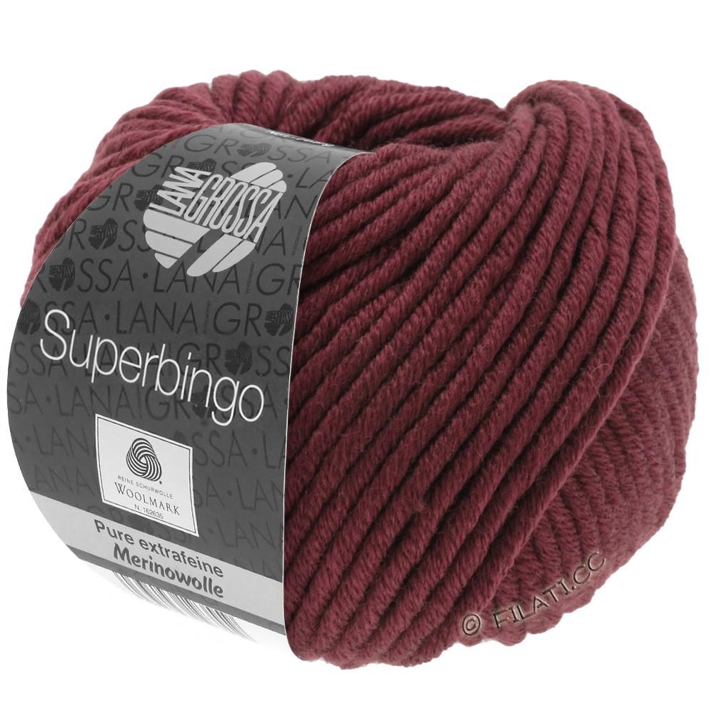 Lana Grossa SUPERBINGO   038-Burgund