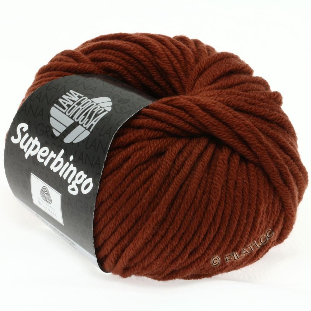 Lana Grossa SUPERBINGO   048-Rotbraun