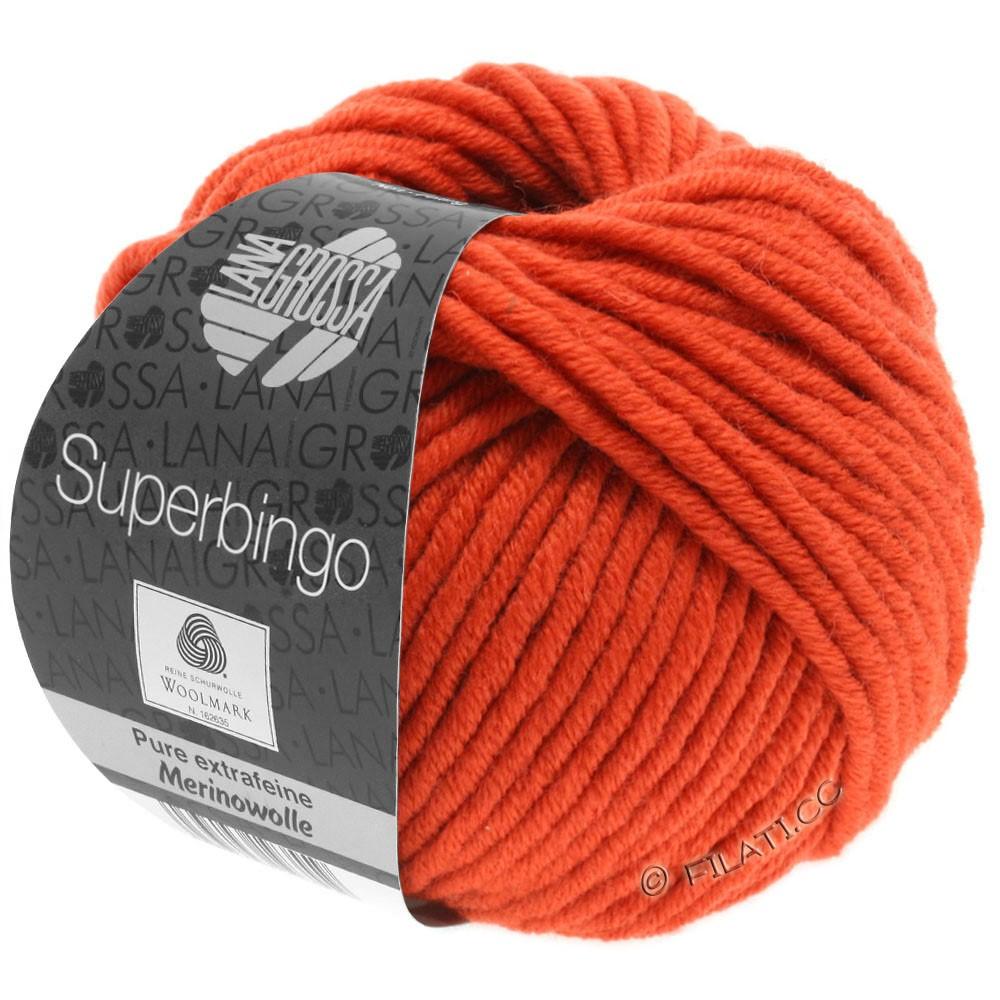 Lana Grossa SUPERBINGO   066-Orangerot