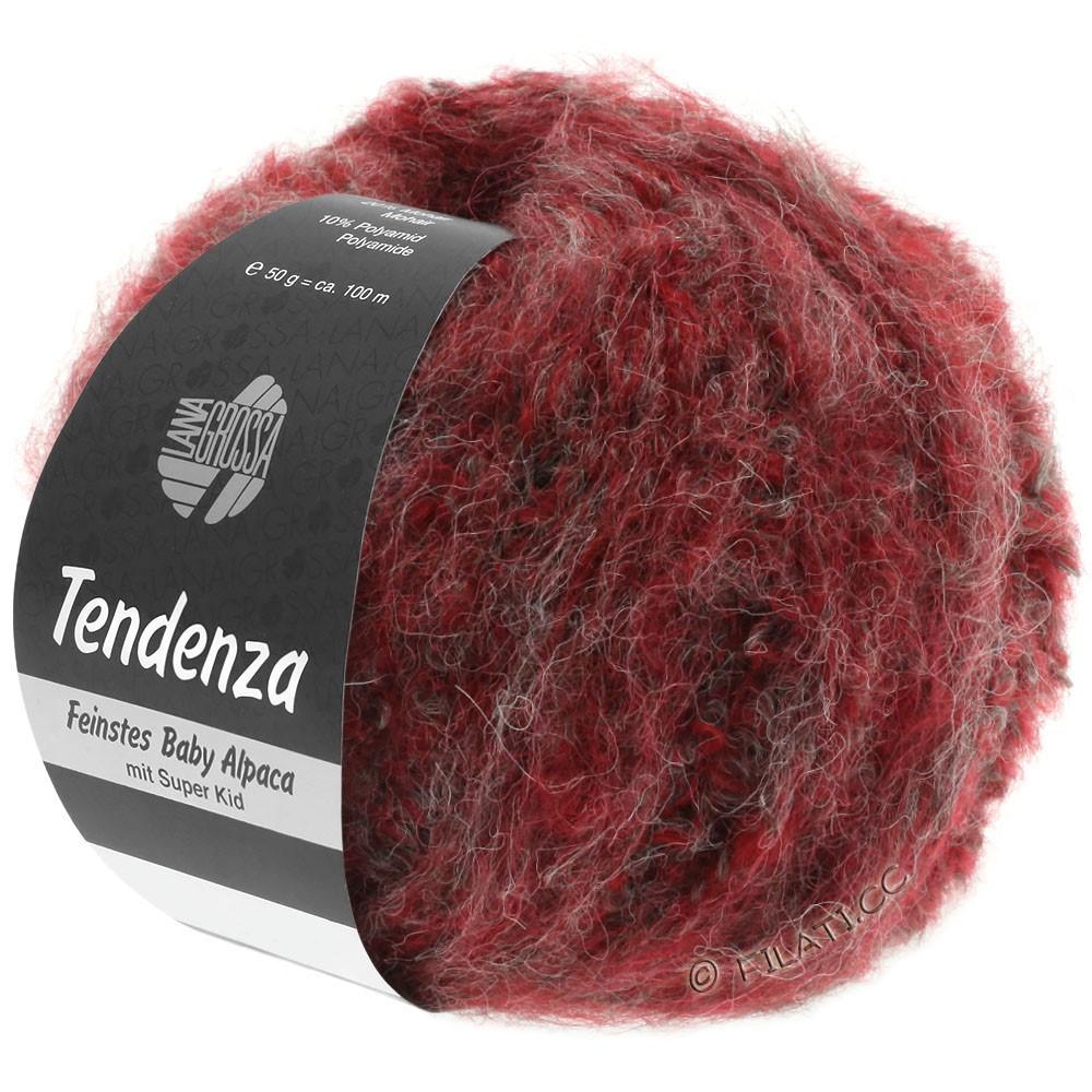 Lana Grossa TENDENZA | 003-Rot/Grau