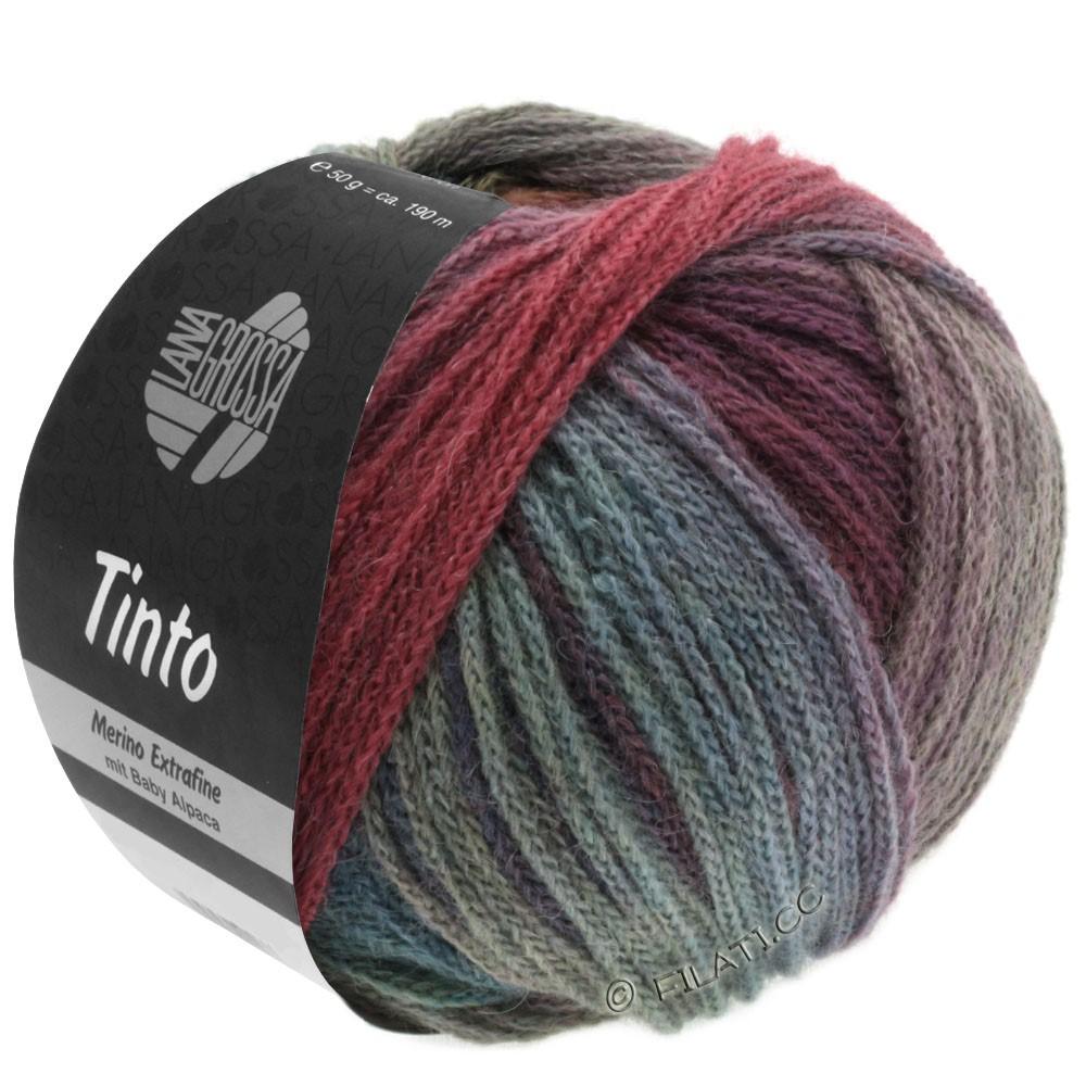 Lana Grossa TINTO | 05-Rot/Türkis/Beere/Mint/Petrol/Dunkelblau