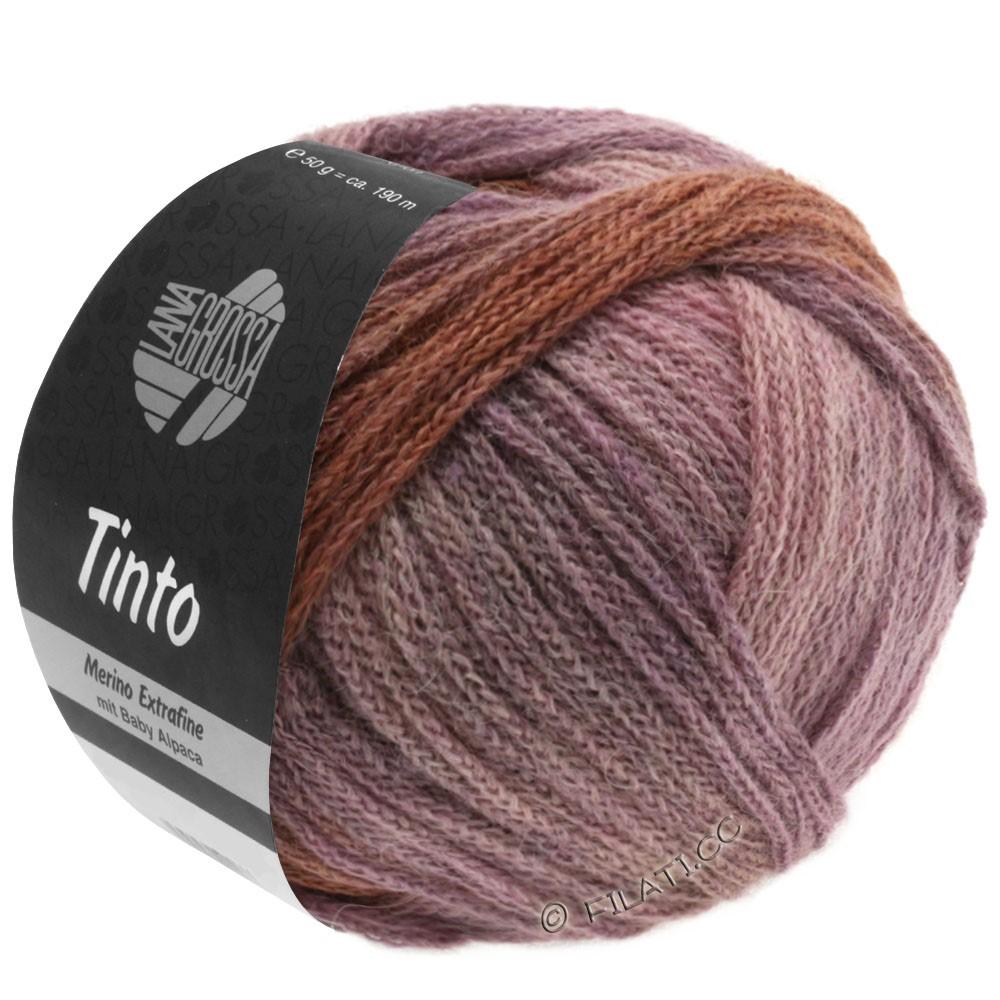 Lana Grossa TINTO | 06-Sand/Rosa/Flieder/Schokobraun/Violett