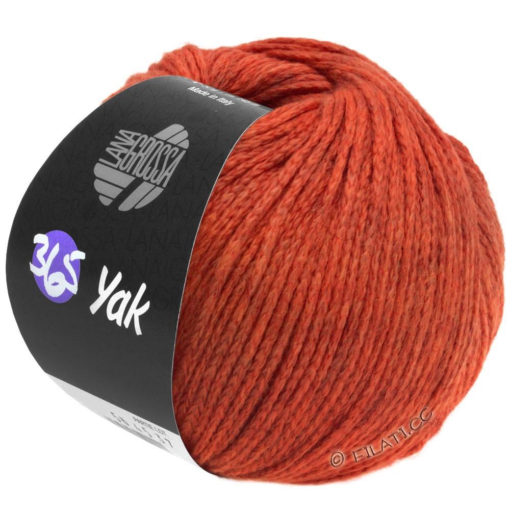 Lana Grossa 365 YAK | 20-Rot/Dunkelrot