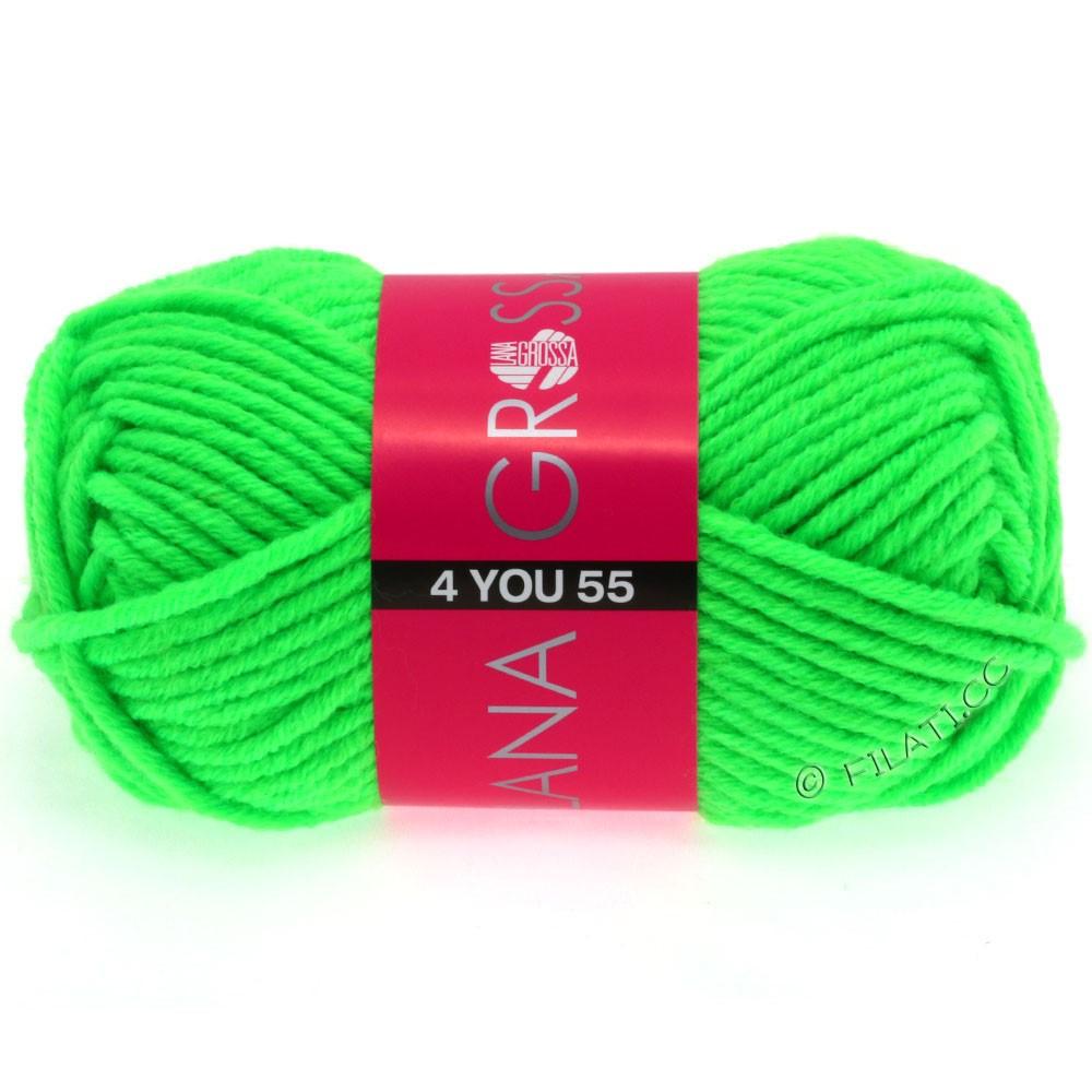 Lana Grossa NEON-4YOU 55 | 502-Neongrün