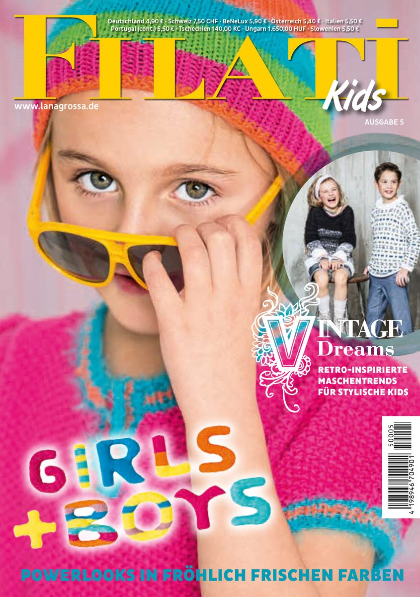 Lana Grossa FILATI Kids No. 5