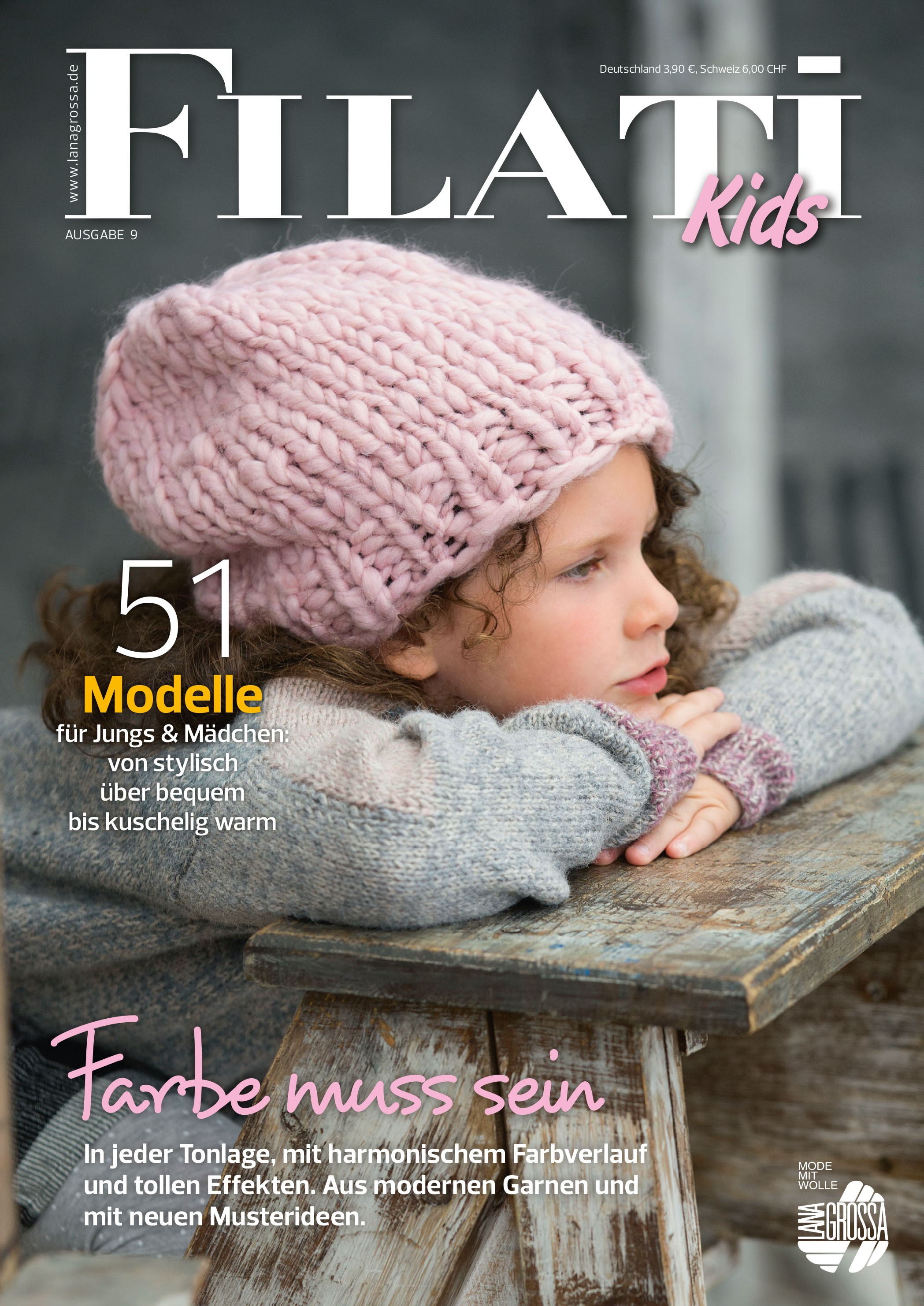 Lana Grossa FILATI Kids No. 9
