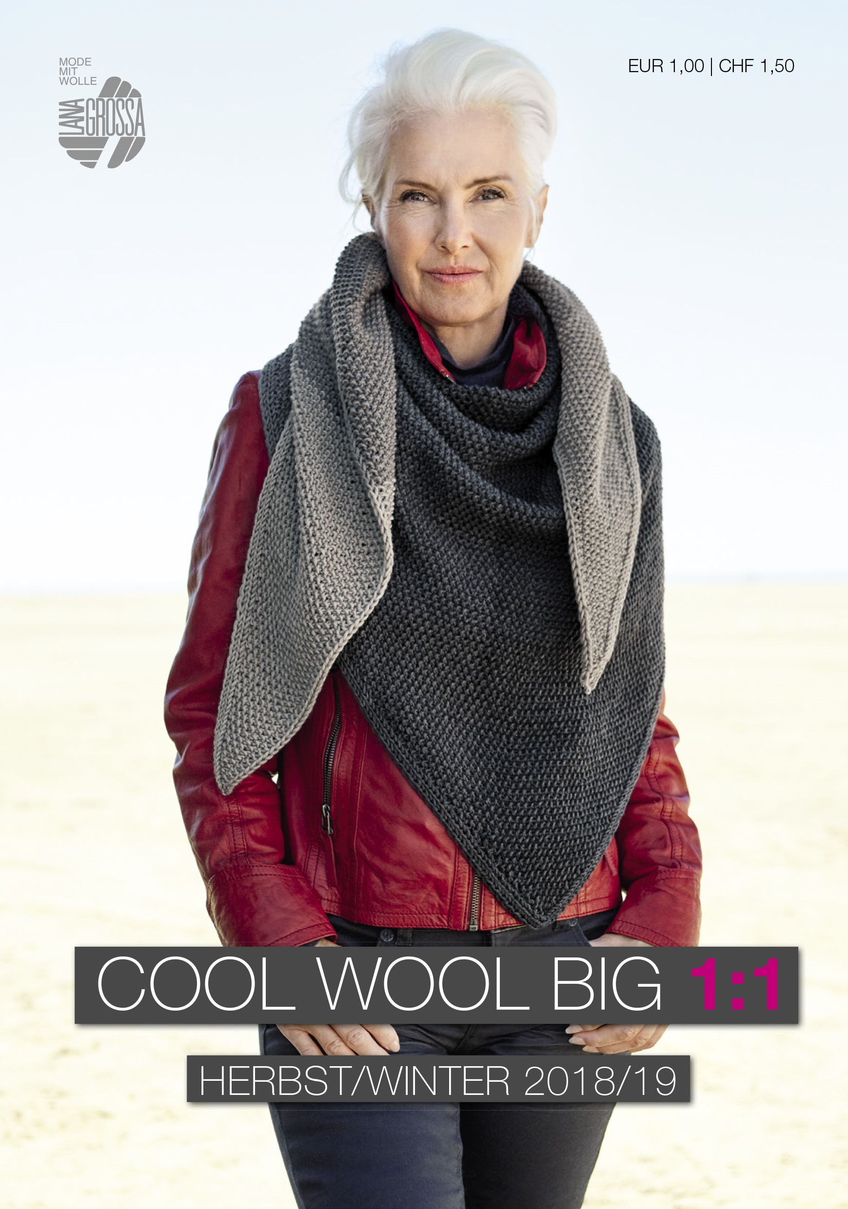 Lana Grossa COOL WOOL BIG 1:1 Flyer