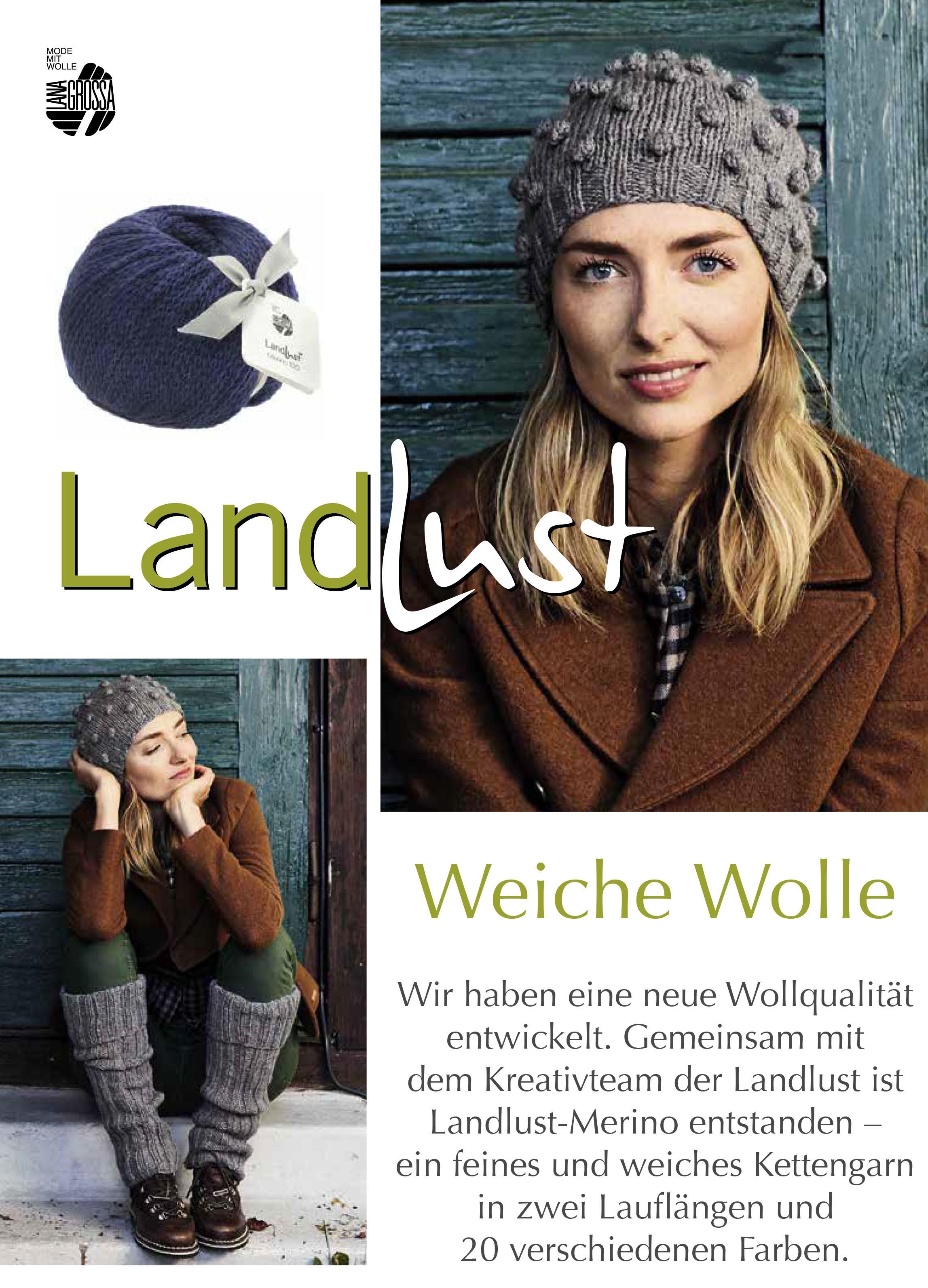 Lana Grossa LANDLUST Flyer 2