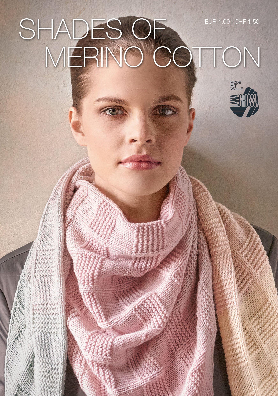 Lana Grossa SHADES OF MERINO COTTON Flyer 2017