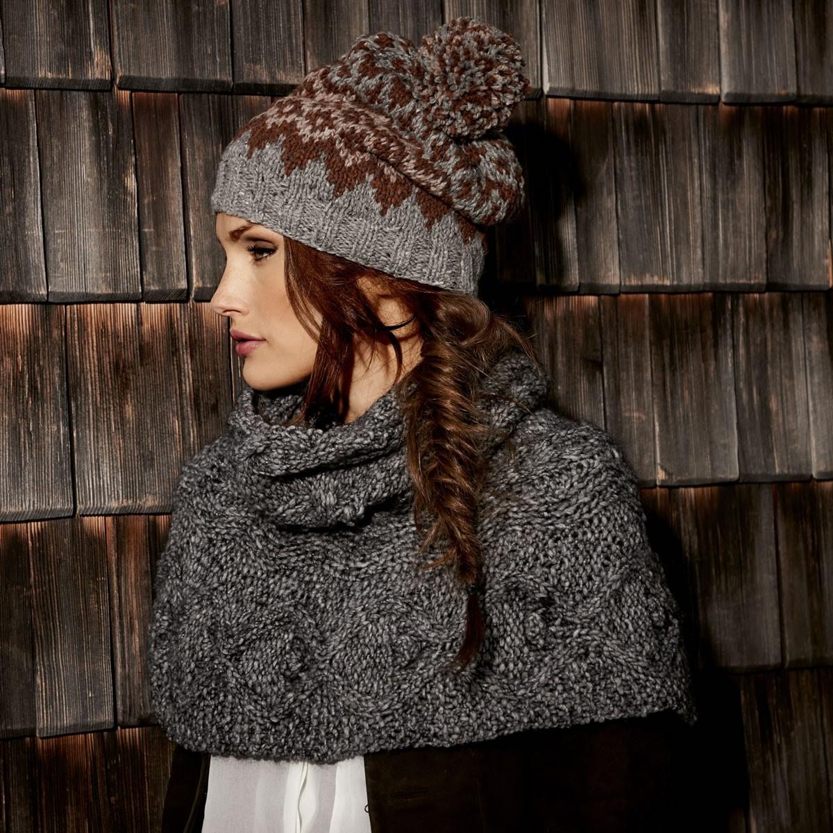 Lana Grossa KURZE ZIPFELMÜTZE Royal Tweed