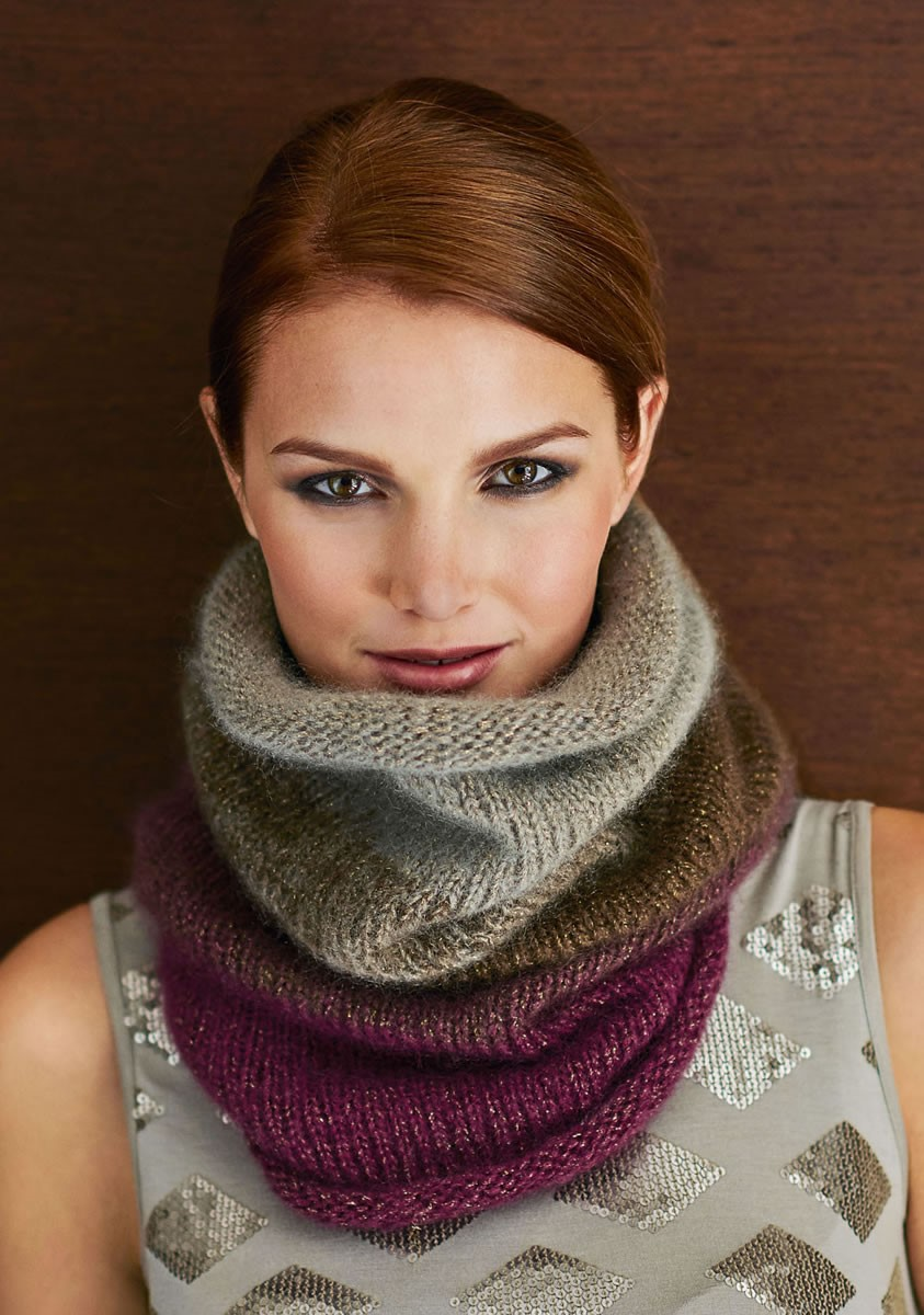 Lana Grossa COWL IM GLITZERLOOK Splendid