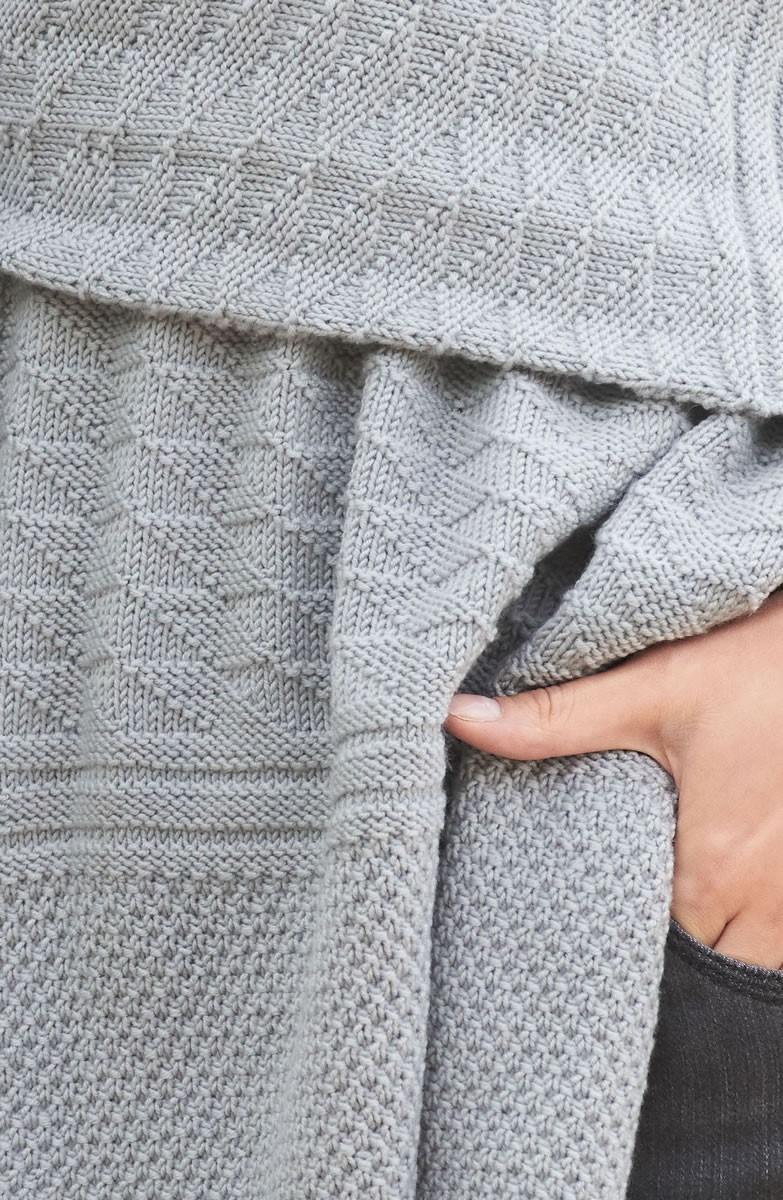 Lana Grossa RECHTS-LINKS-STOLA Cool Wool