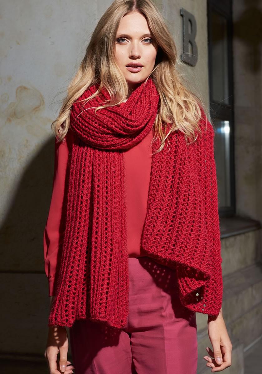 Lana Grossa GROSSZÜGIGE STOLA Cool Wool Big/Silkhair