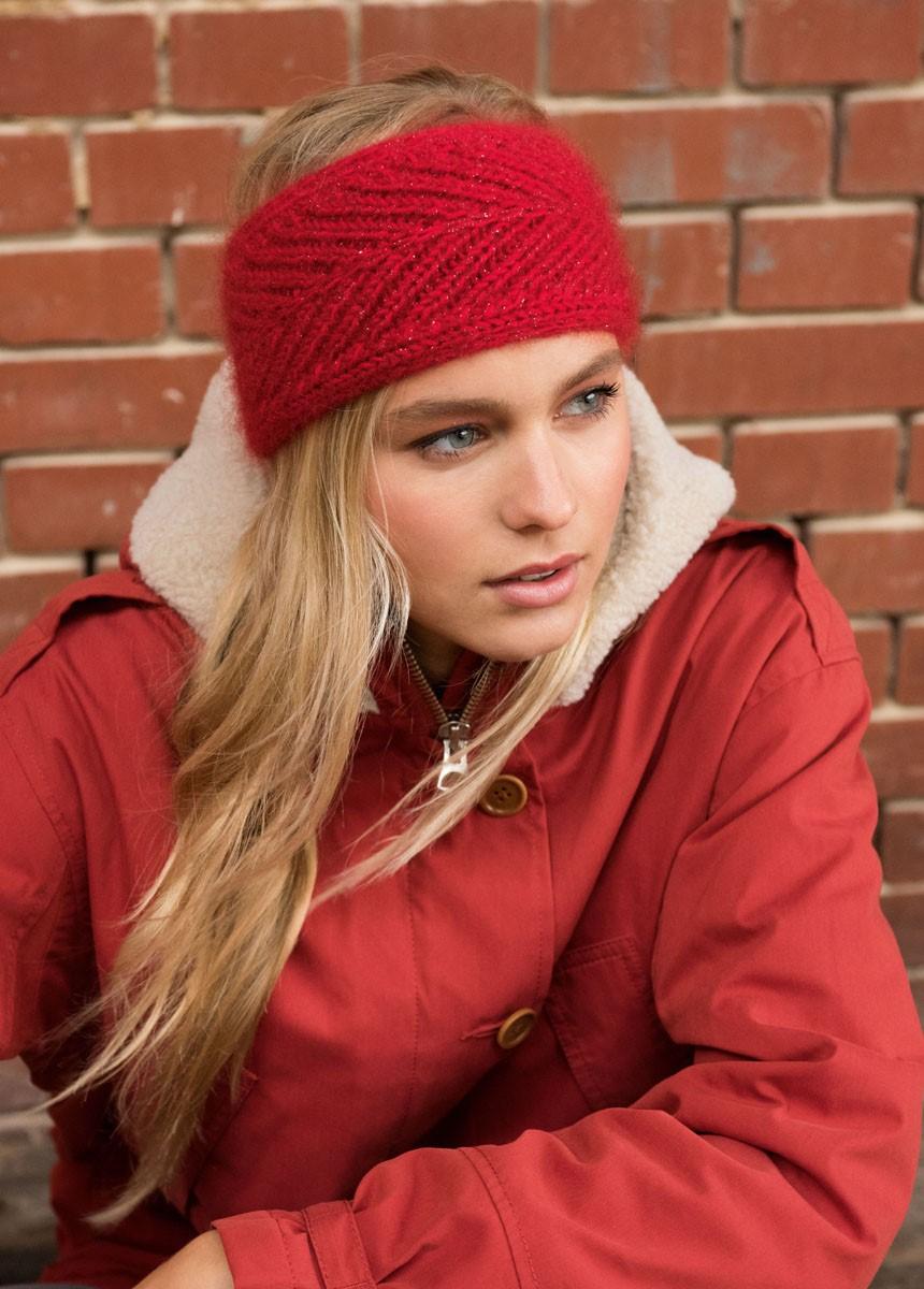 Lana Grossa STIRNBAND Cool Wool Big/Silkhair Lusso