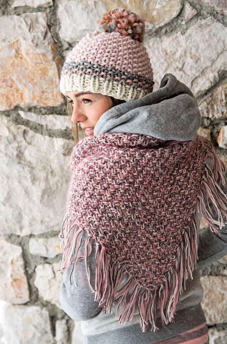 Lana Grossa DREIECKSTUCH Cool Wool Melange/Silkhair/Cool Wool