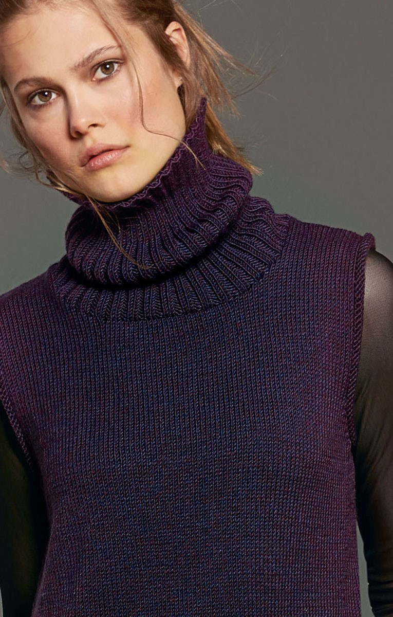Lana Grossa TUNIKA Cool Wool Melange