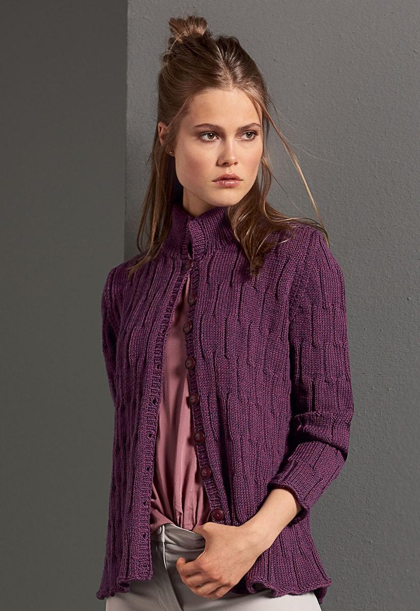 Lana Grossa JACKE Cool Wool Big Melange