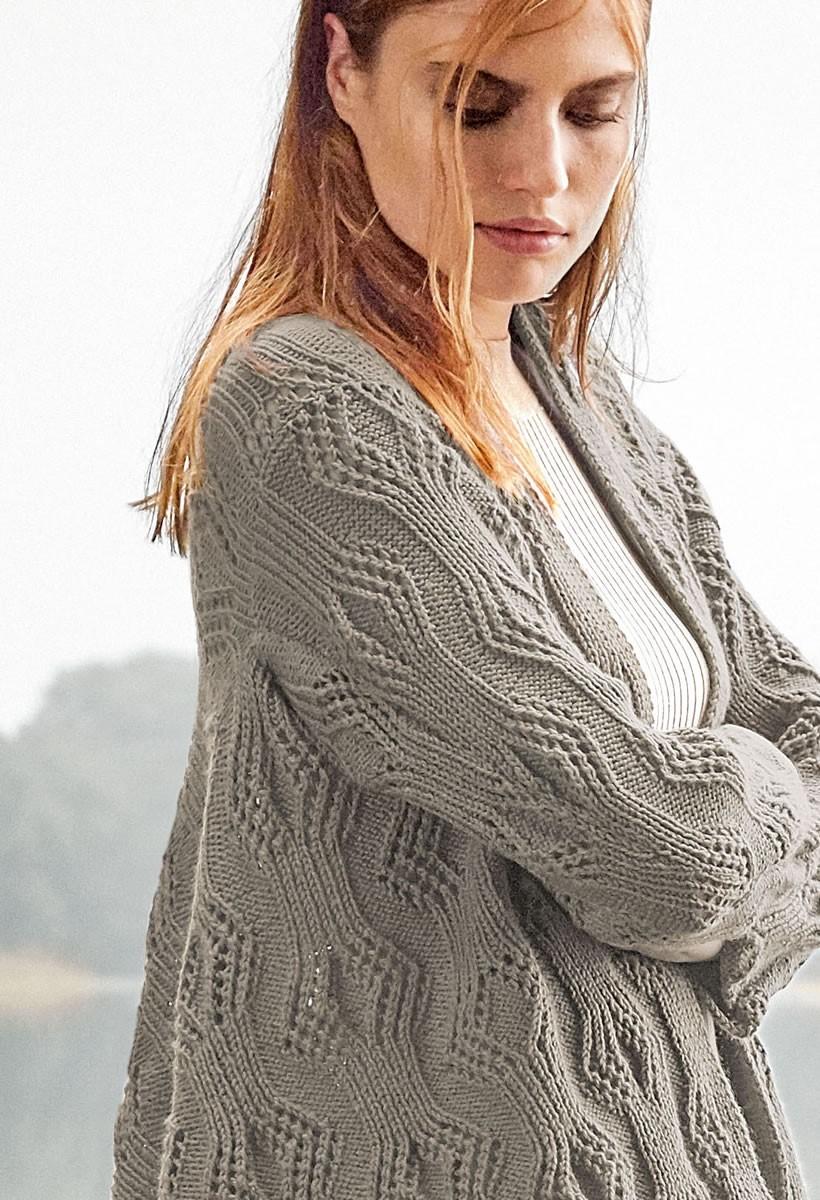 Lana Grossa JACKE Cool Wool Cashmere