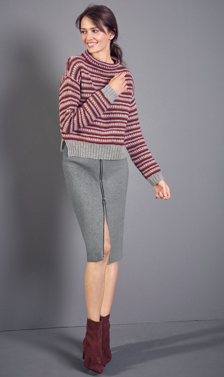 Lana Grossa PULLOVER Cashmere 16 Fine
