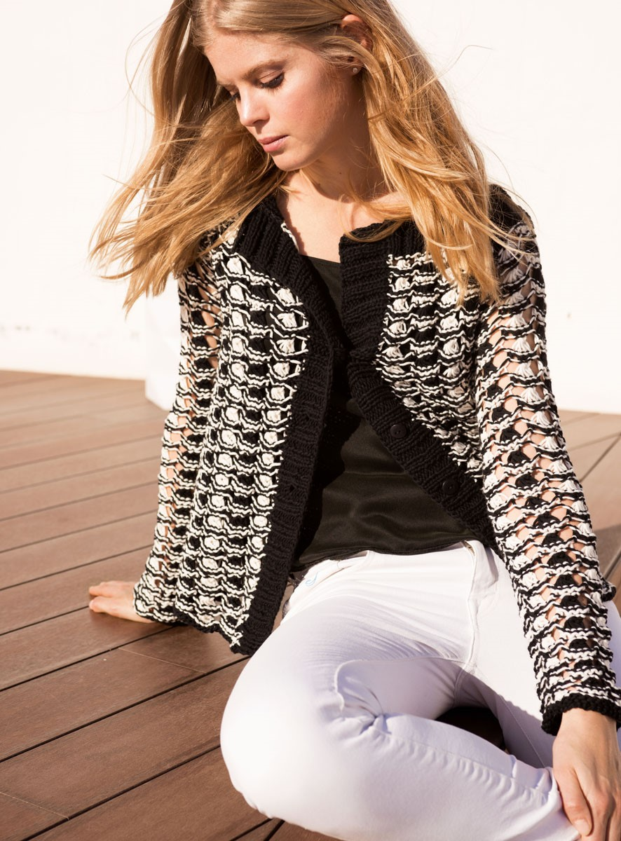 Lana Grossa JACKE Only Cotton