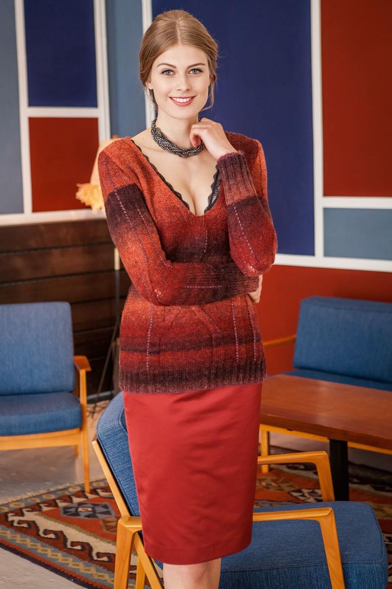 Lana Grossa V-PULLI AM Superbaby Fine Degradè/Splendid