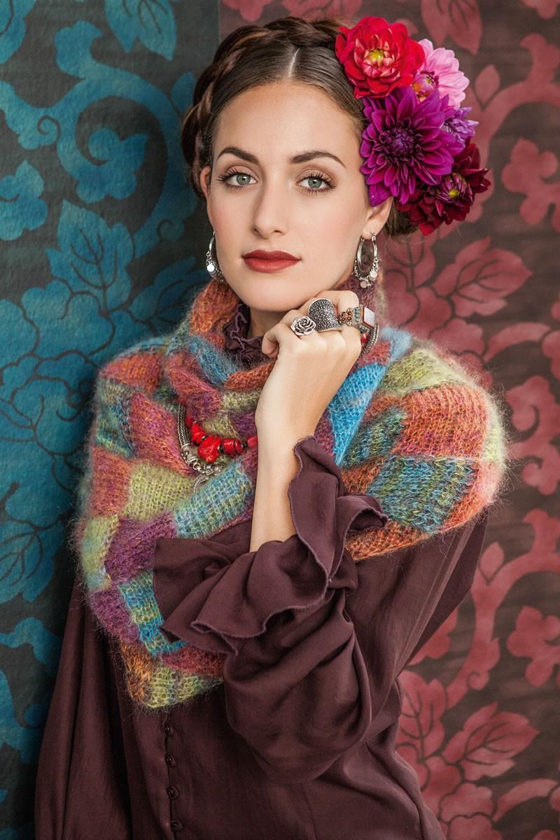 Lana Grossa TUCH IM FLECHTMUSTER Silkhair print