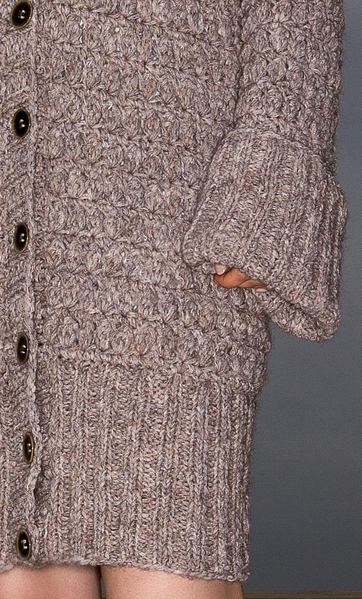Lana Grossa Mantel Vela Filati Handstrick No 61 Modell 14
