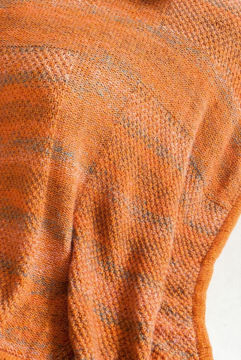 Lana Grossa PLAID MIT PERLMUSTER UND GLATT LINKS Colmo/Silkhair Print