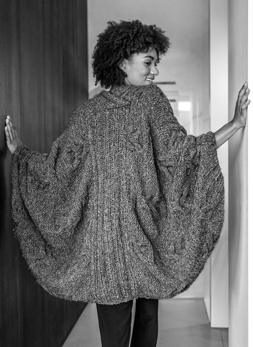 Lana Grossa Wollh/äkelnadel 10mm Alu mit Softgriff