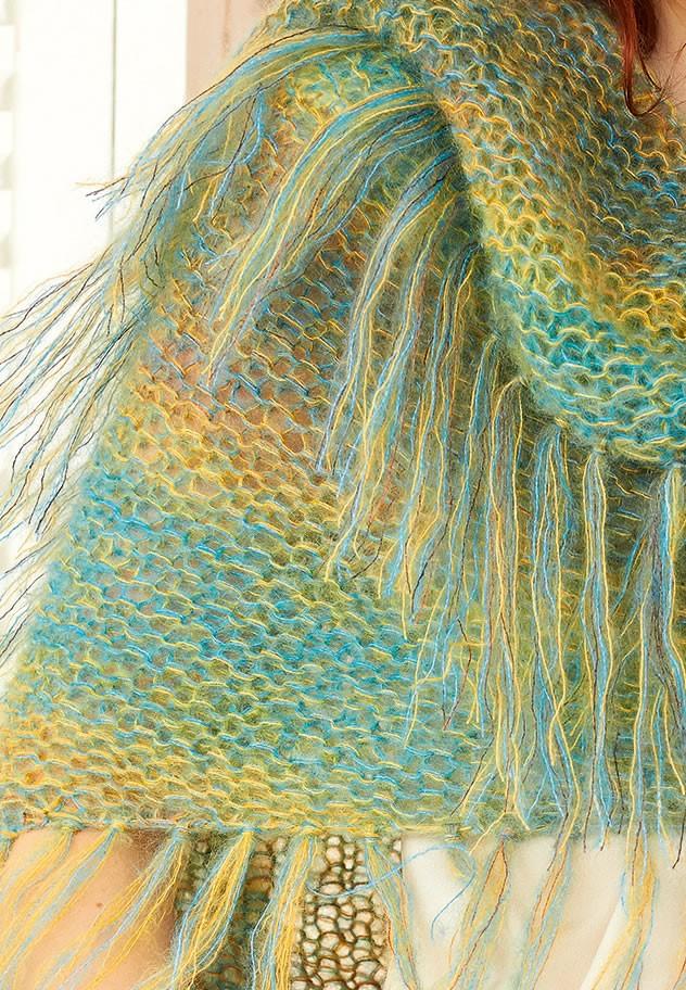 Lana Grossa DREIECKSTUCH Silkhair/Silkhair Print