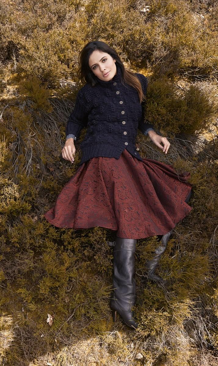 Lana Grossa JACKE IM ÄHRENMUSTER Alta Moda Alpaca