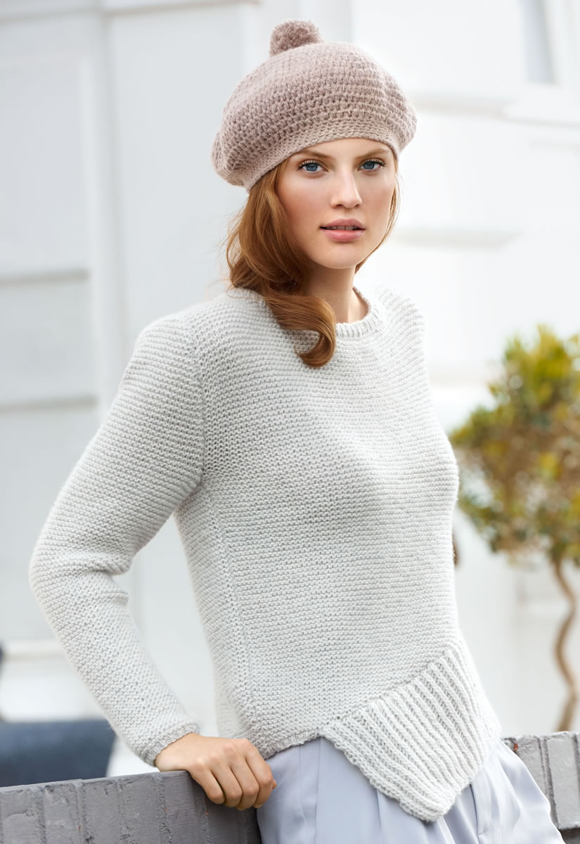 lana grossa cashmere 16 fine wolle damen pullover