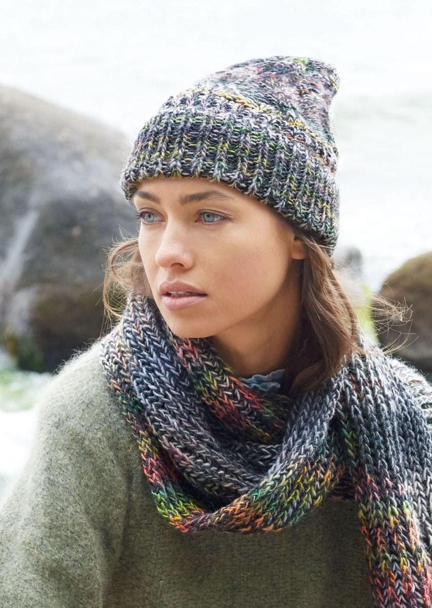 Lana Grossa MÜTZE IM ZOPFMUSTER Gomitolo 200/Cool Wool