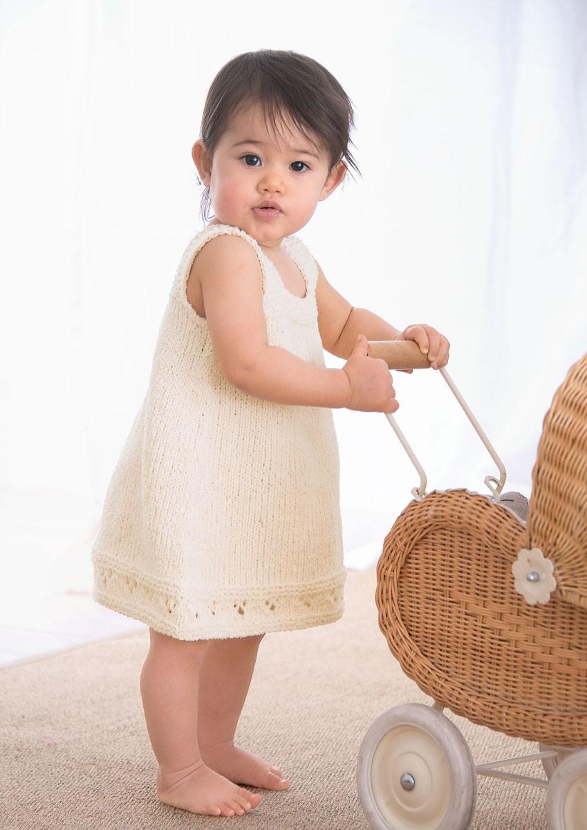 Lana Grossa KLEID Baby Soft