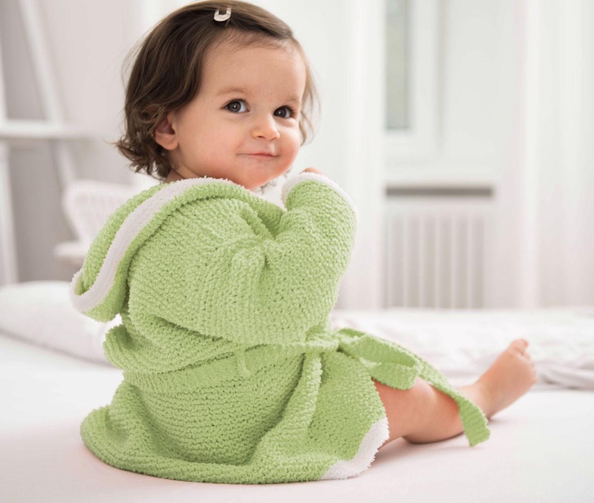Lana Grossa BADEMANTEL Baby Soft