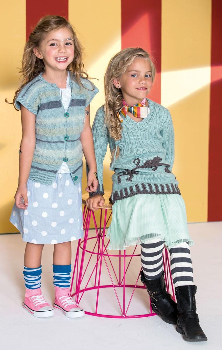 Lana Grossa WESTE Cool Wool/Bombolino Lux/Splendid/Peppina