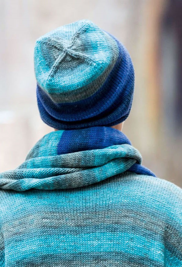 Lana Grossa MÜTZE Cool Wool Degradé