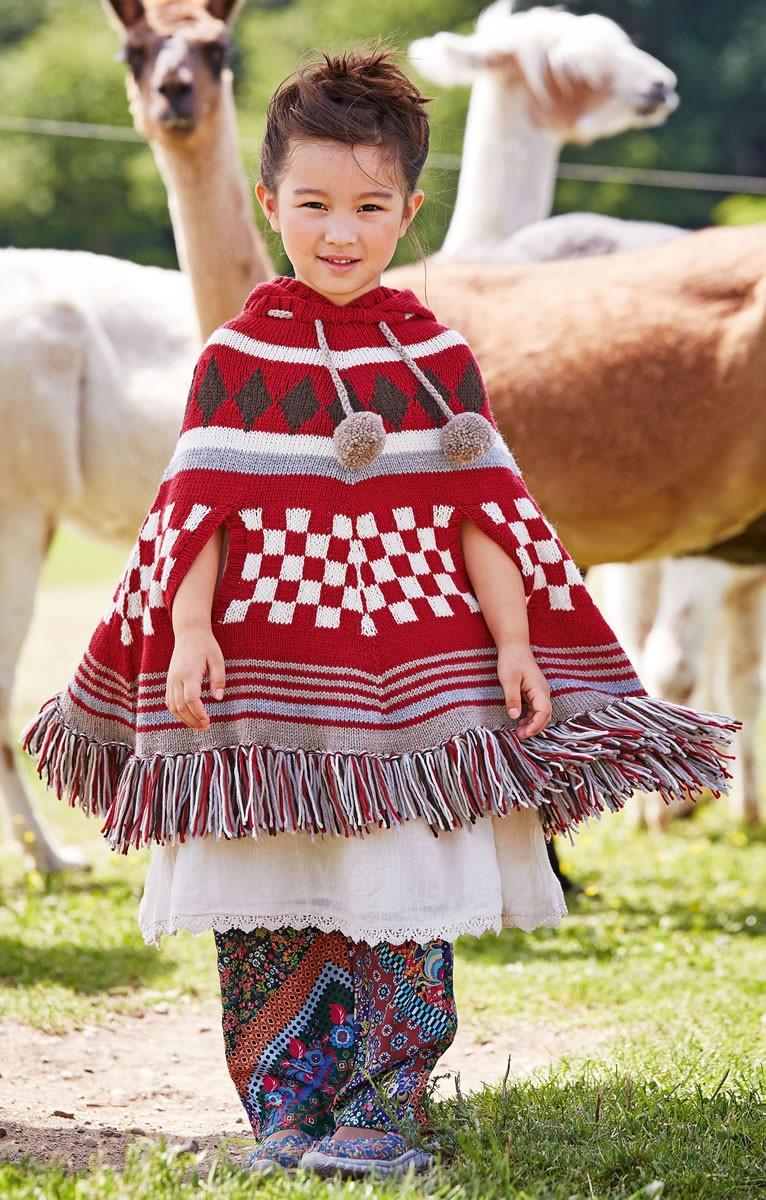Lana Grossa PONCHO Cool Wool Cashmere