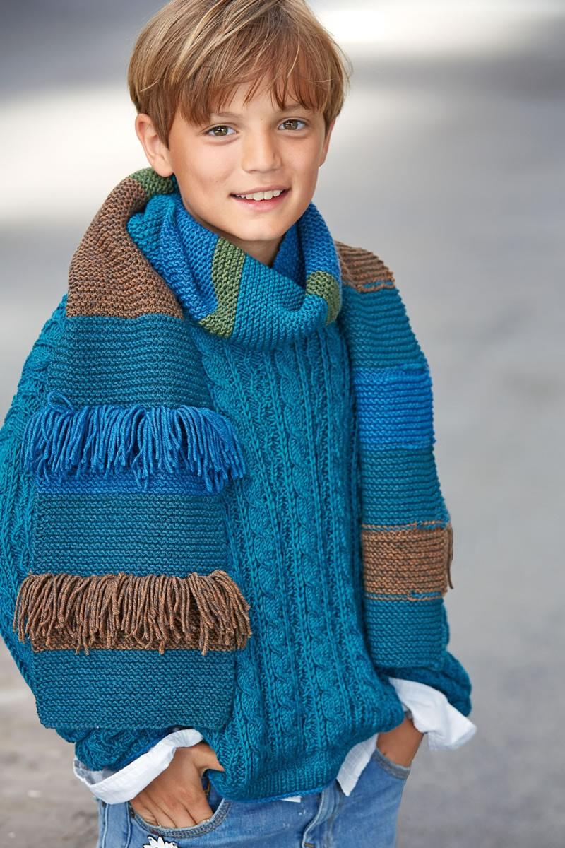 Lana Grossa SCHAL Cool Wool Big Melange