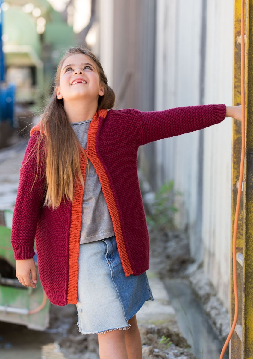 Lana Grossa LANGE JACKE Cool Wool Big