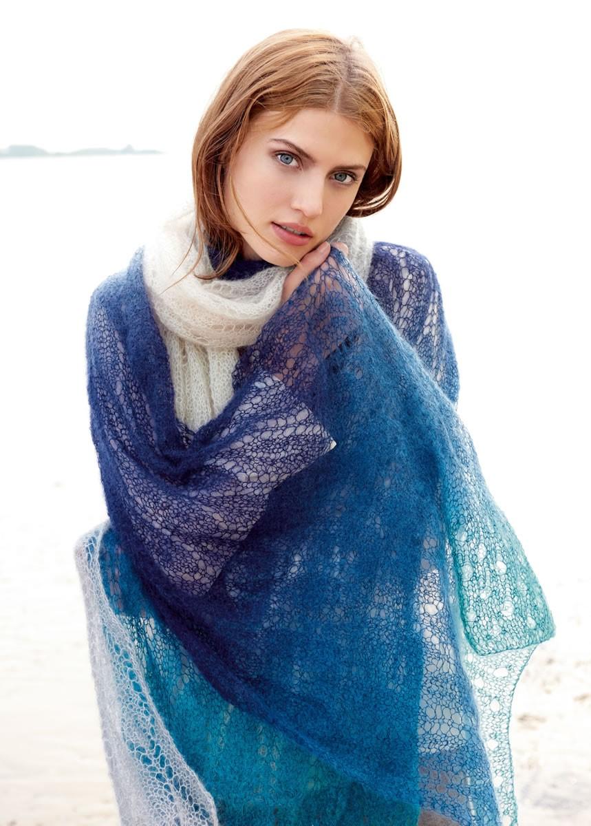 Lana Grossa XXL-SCHAL Silkhair Degradé