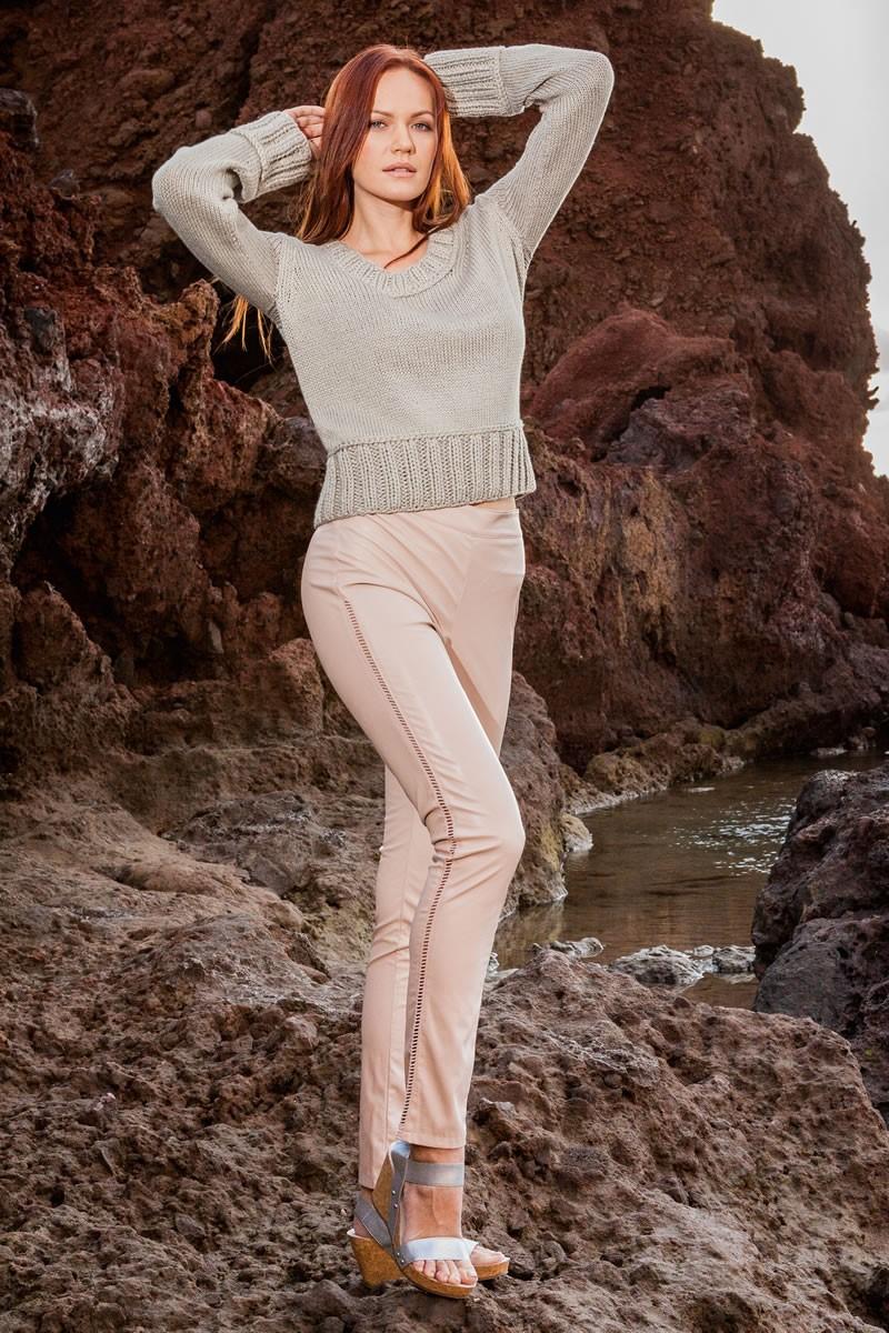Lana Grossa RUNDHALSPULLOVER 365 Cotone